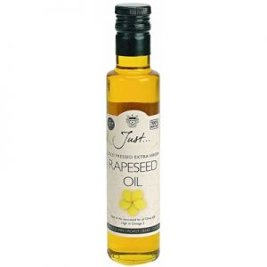 Cold Pressed Extra Virgin Rapeseed Oil