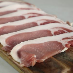 Dried Cured Packington Bacon Slices