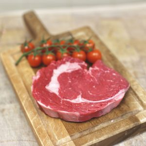 rib eye steak, beef steak, grass fed beef, Russell's Butchers
