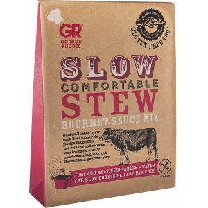 Gordon Rhodes Slow Comfortable Stew Gourmet Sauce Mix