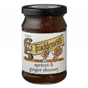 tracklemsents apricot and ginger chutney