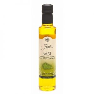 Basil Infused Extra Virgin Rapeseed Oil